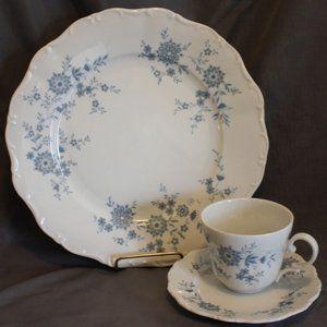 Seltmann Weiden Bavarian Blue Porcelain Set 3